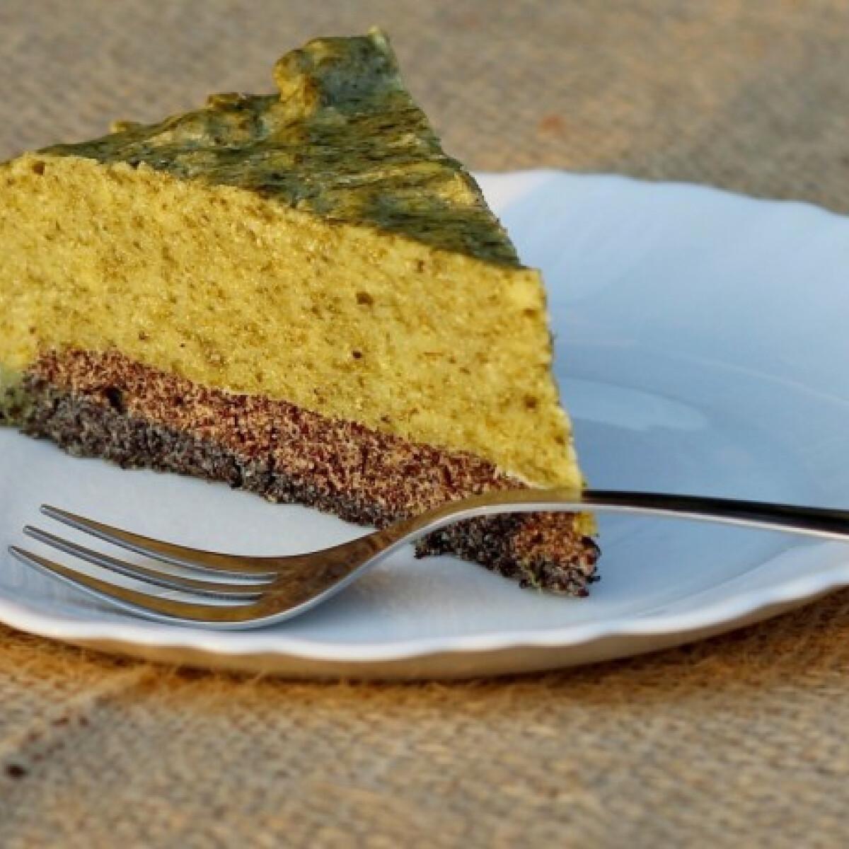 Ezen a képen: Sóska torta