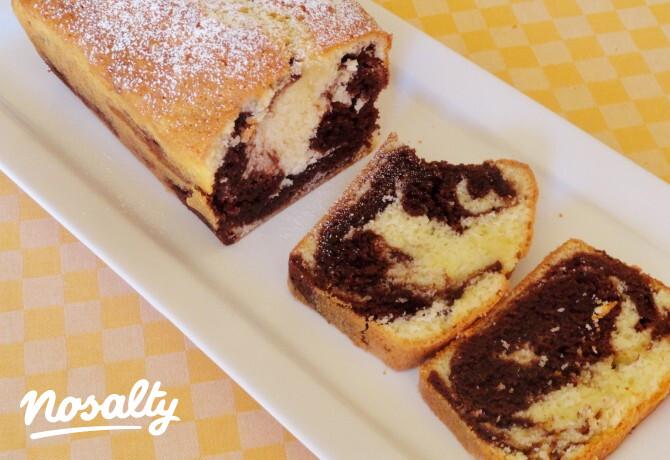 Ezen a képen: Nutellás márványos sütemény