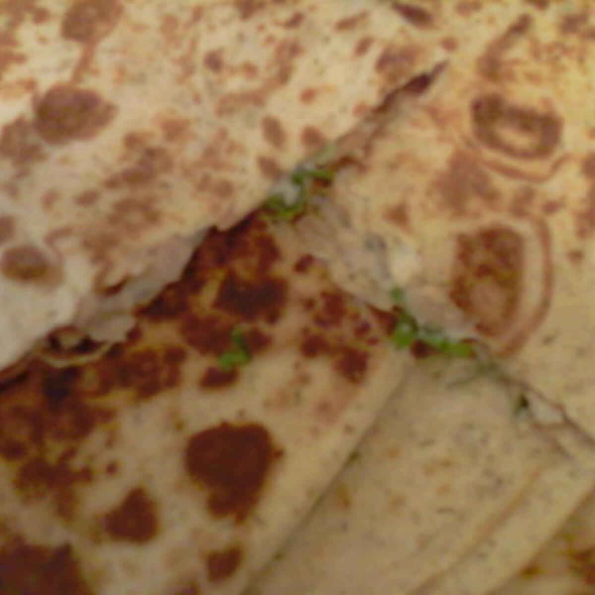Ezen a képen: Snidlinges mediterrán quesadilla