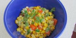 Kukorica-curry kókusszal