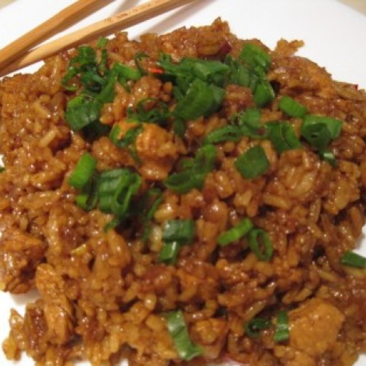 Ezen a képen: Kínai rizses hús