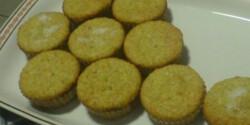 Banános-joghurtos muffin
