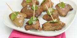 Fűszeres csirkemáj