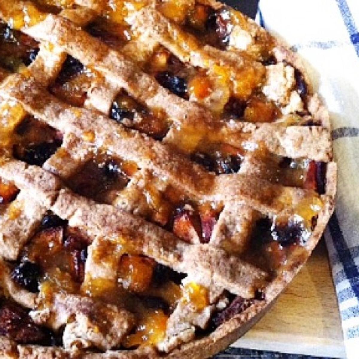 Ezen a képen: Holland almás torta