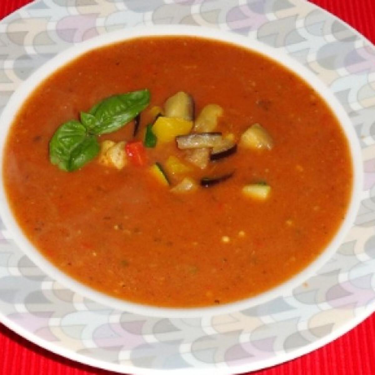 Ezen a képen: Ratatouille leves