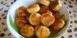 Krumplis pogácsa 12. - tejfölös