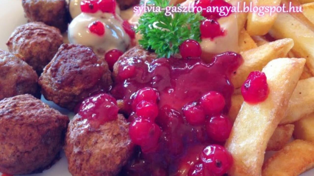 Svéd húsgolyók Sylvia Gasztro Angyal konyhájából
