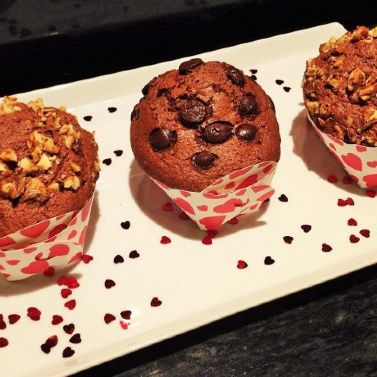 Ezen a képen: Valentin muffin