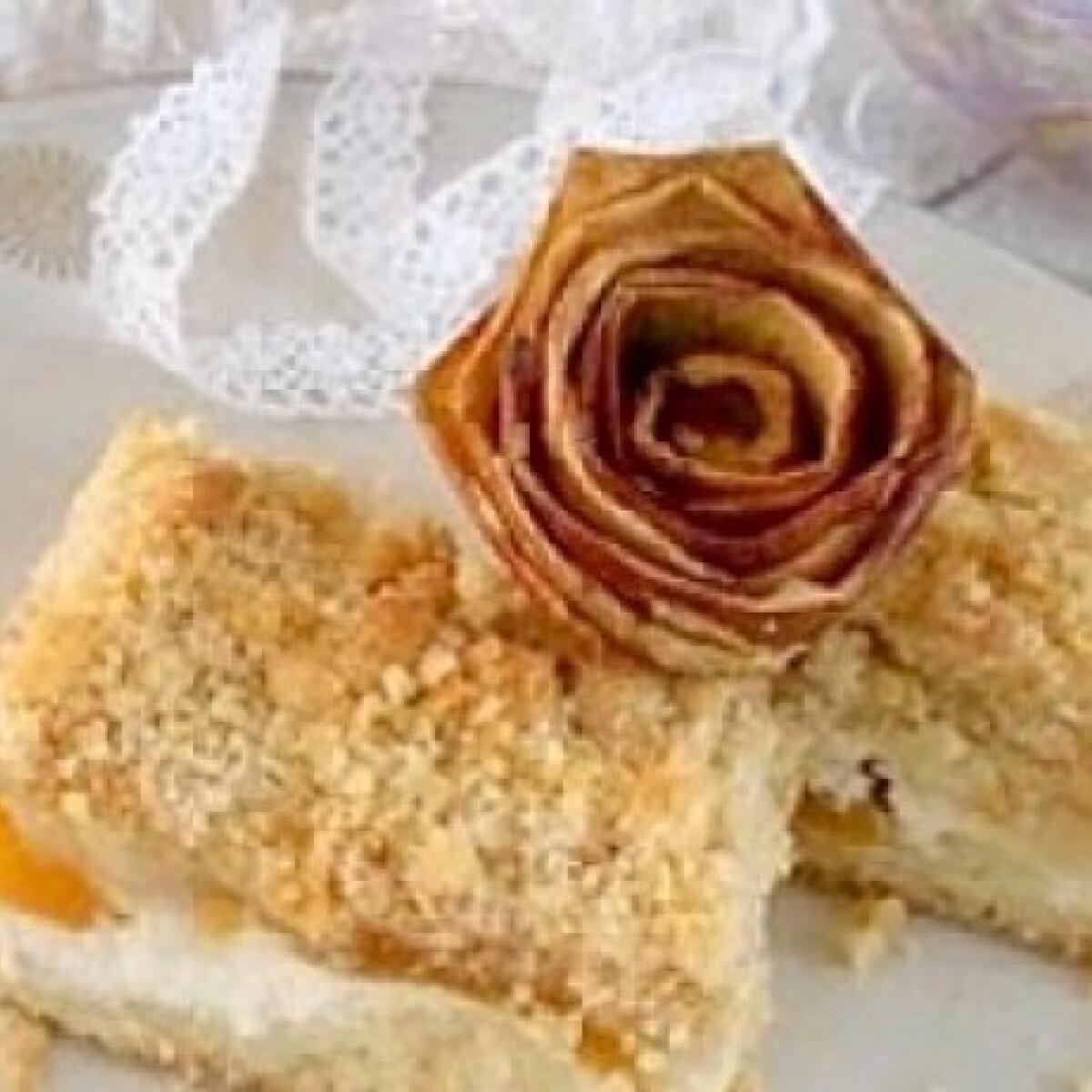 Túrós-joghurtos morzsaszelet - Csupamorzsa