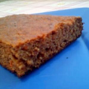 Vegán sárgarépás süti