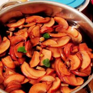Náthaűző csipkebogyós almatea