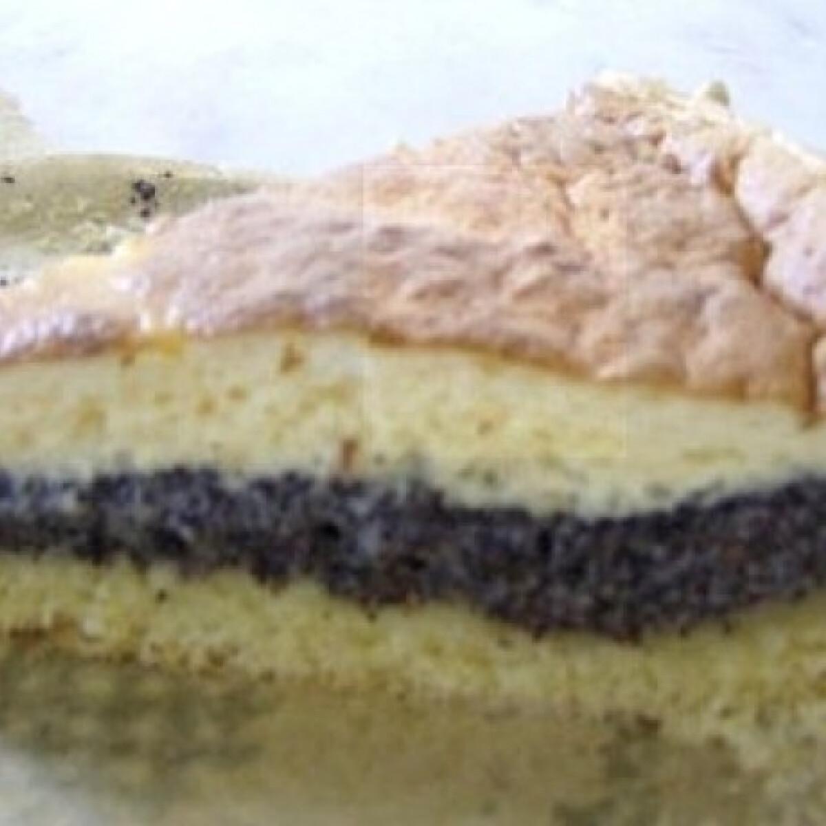 Tojásos mákos süteményt