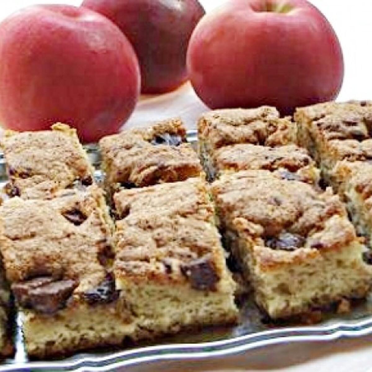 Ezen a képen: Gyors kevert almás
