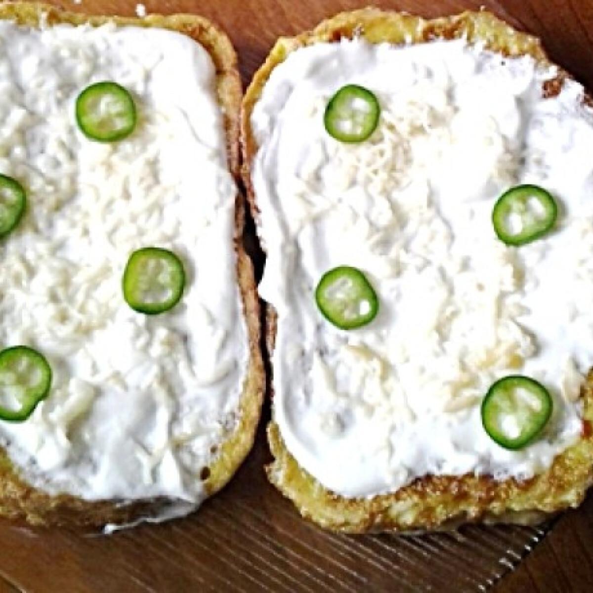 Bundás kenyér füstölt sajttal