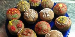 Feketeerdő muffin - Meggyes-csokis muffin 5.