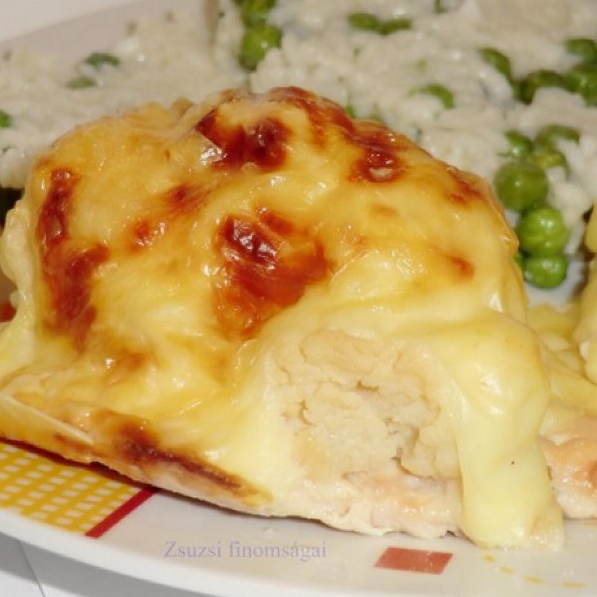 Ezen a képen: Dubarry csirkemell ahogy Zsuzsi készíti