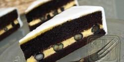Narancskrémes brownie torta -Brownie torta 2.