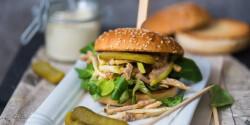 Alabamai sülthúsos-szendvics