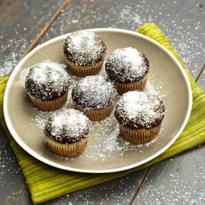 Duplakókuszos-csokis muffin