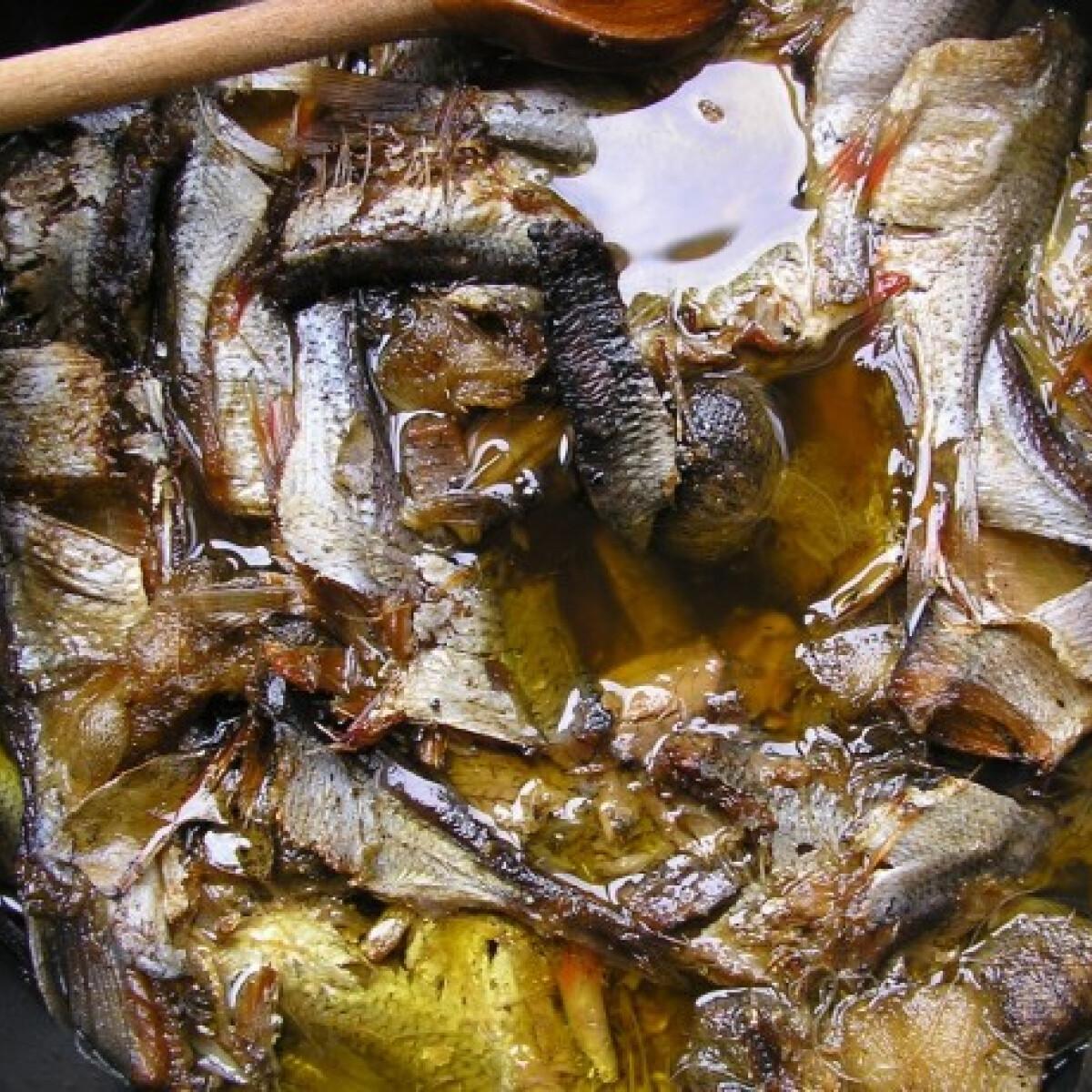 Olajos hal házilag