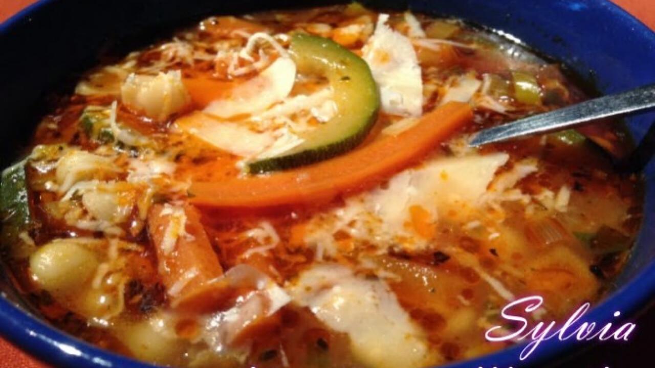 Minestrone leves Sylvia Gasztro Angyal konyhájából