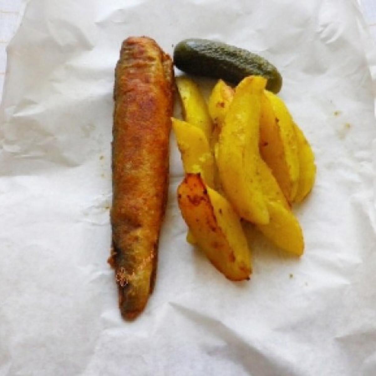 Ezen a képen: Magyar fish and chips
