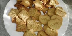 Nyomdázható fahéjas keksz