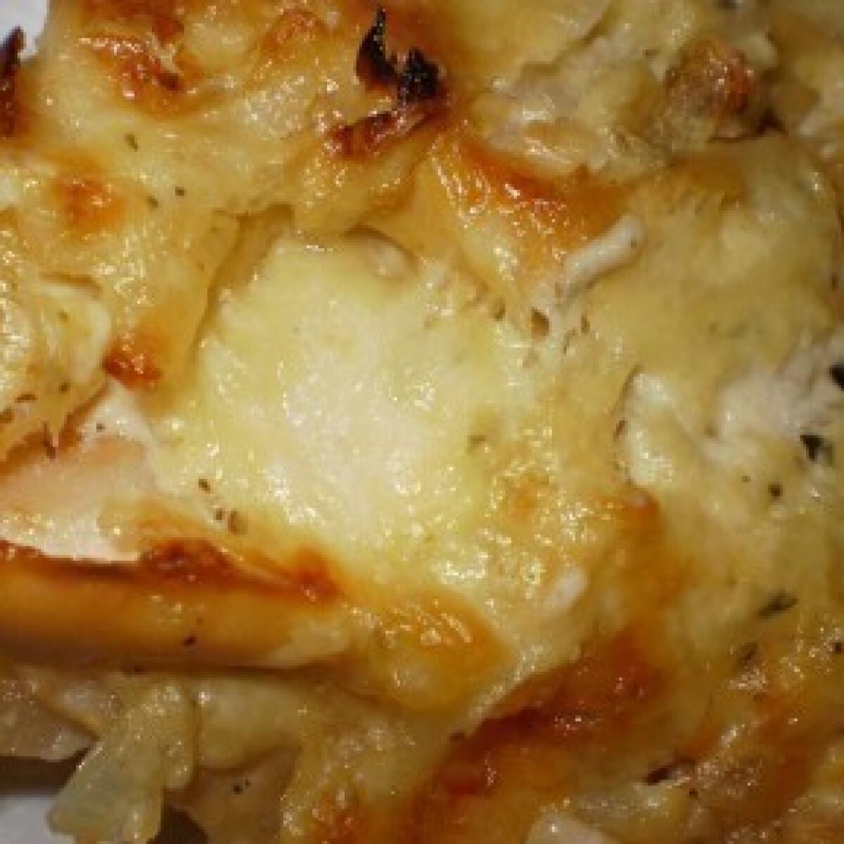 Almás-krumplis rakott