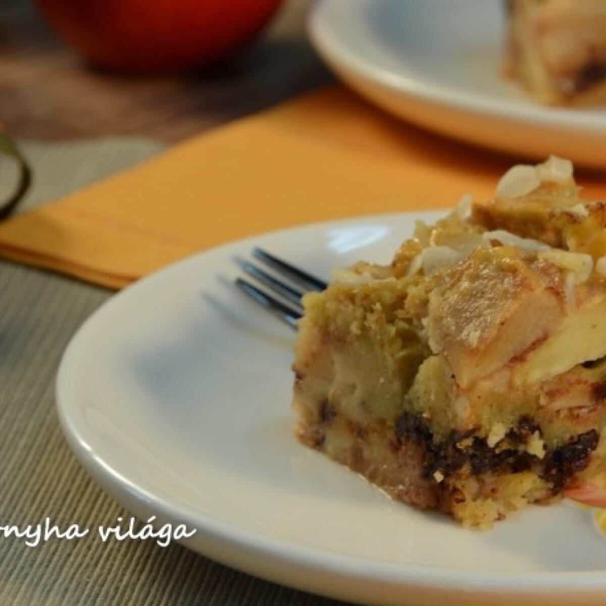Ezen a képen: Francia almás kocka