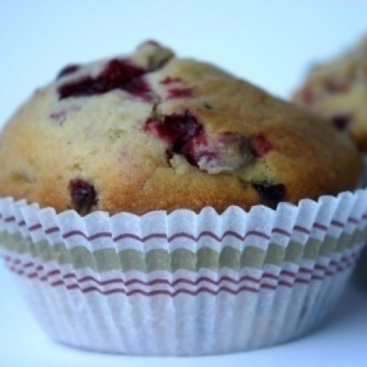 Ezen a képen: Ribizlis muffin