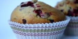 Ribizlis muffin