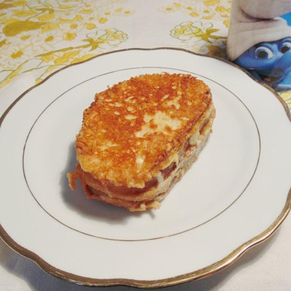 Ezen a képen: Sajtos bundás kenyér Lizinka konyhájából