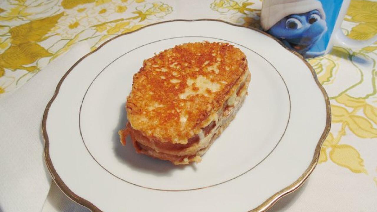 Sajtos bundás kenyér Lizinka konyhájából