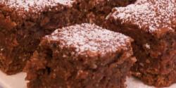 Kókuszos-kakaós sütemény