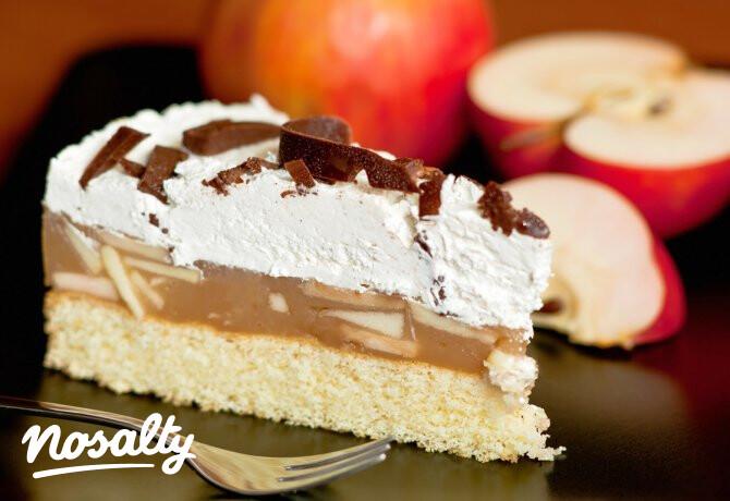 Ezen a képen: Almás túrótorta Tomatotree konyhájából