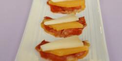 Birsalmasajt Serrano sonkával és Manchego sajttal