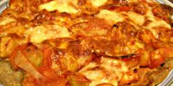 Zöldséges pizza Paleolitlife konyhájából