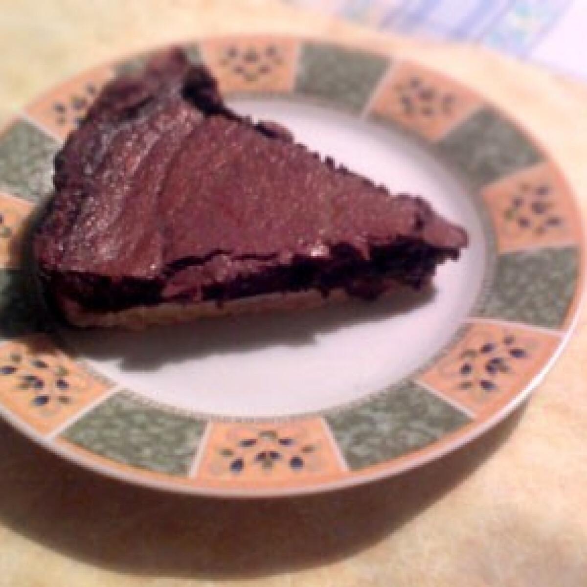 Ezen a képen: Csokoládéhabos pite