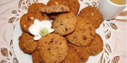 Amerikai keksz 6. - kókuszos, mogyorós