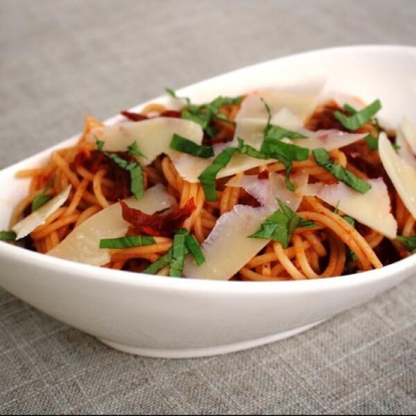 Szárított paradicsomos spagetti