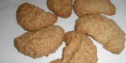 Kókuszos-mandulás keksz