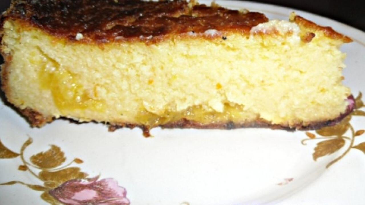 Narancsos túrótorta Kisvikica konyhájából