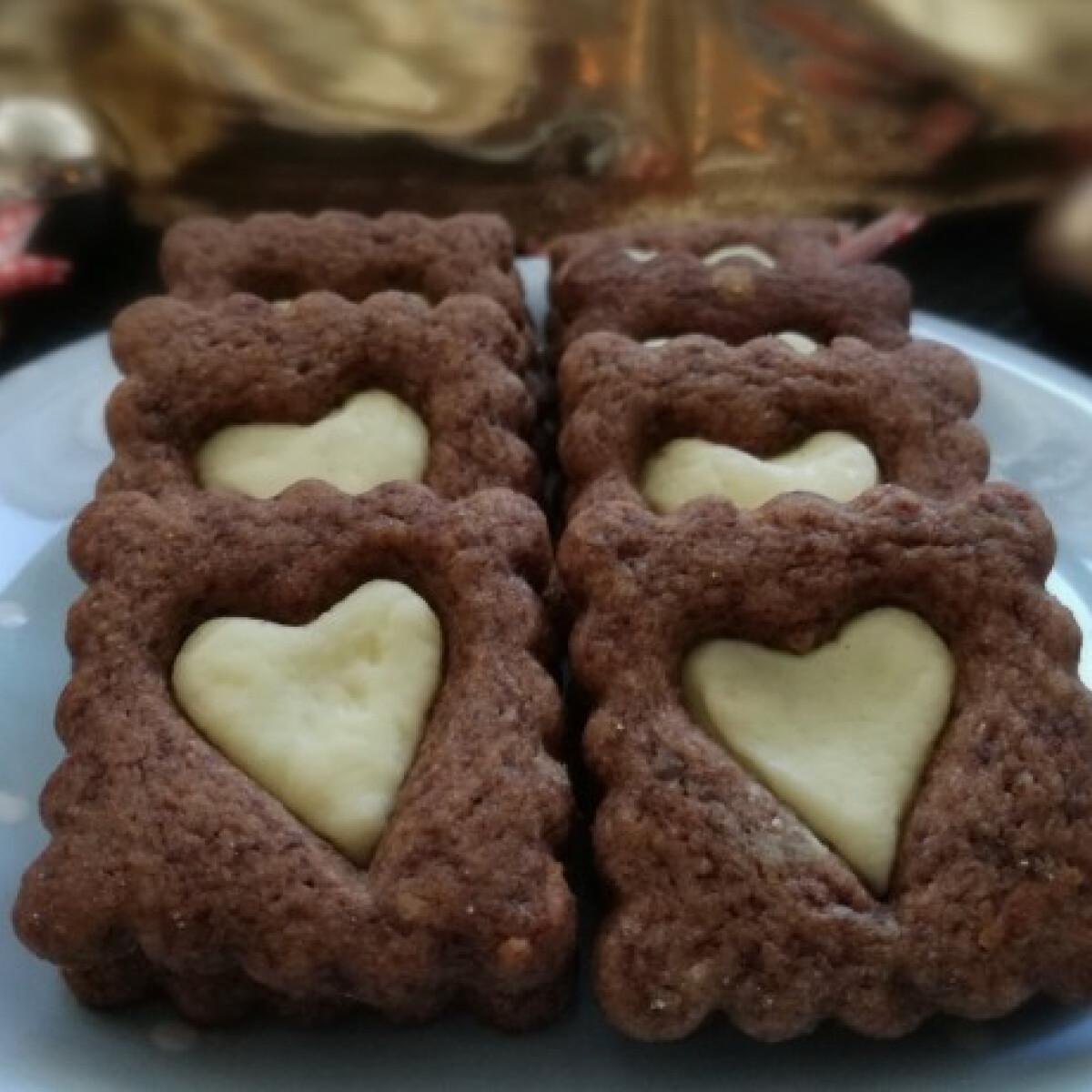 Ezen a képen: Csokis-narancsos keksz