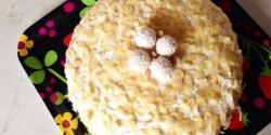 Raffaello torta Rezu konyhájából