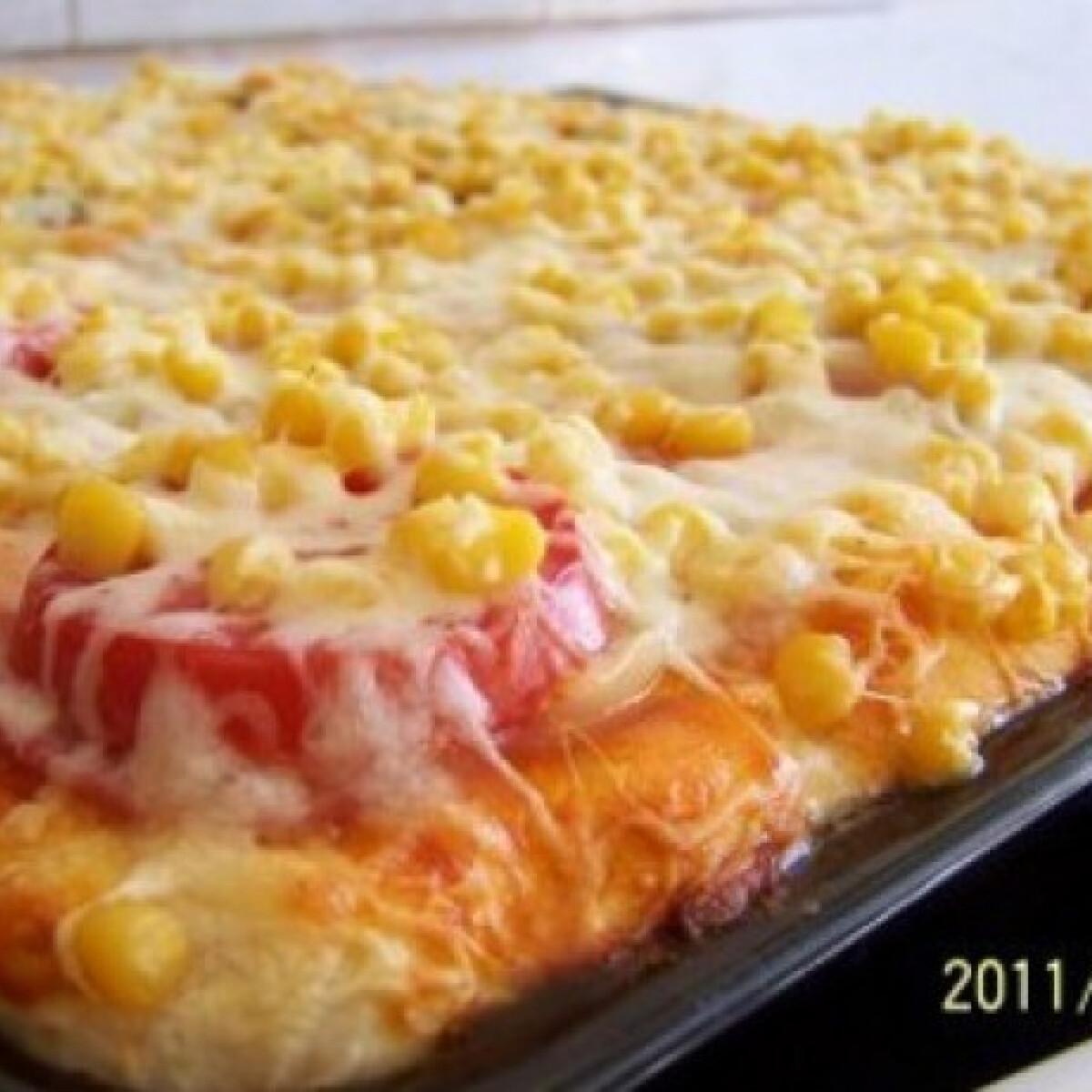Ezen a képen: Tejfölös pizzatészta