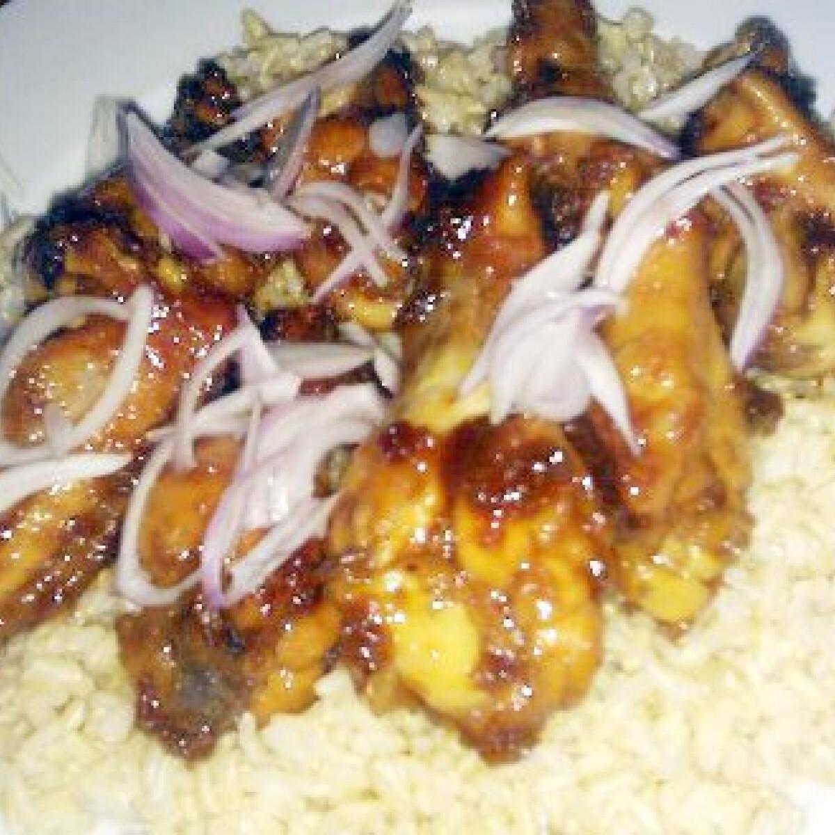 Ragacsos csirke ahogy Ákos készíti