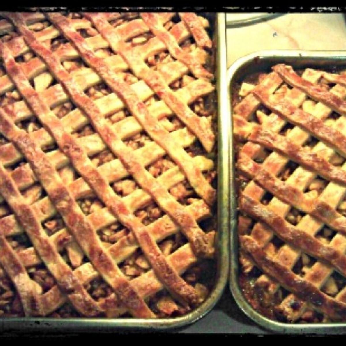 Ezen a képen: Holland almás pite
