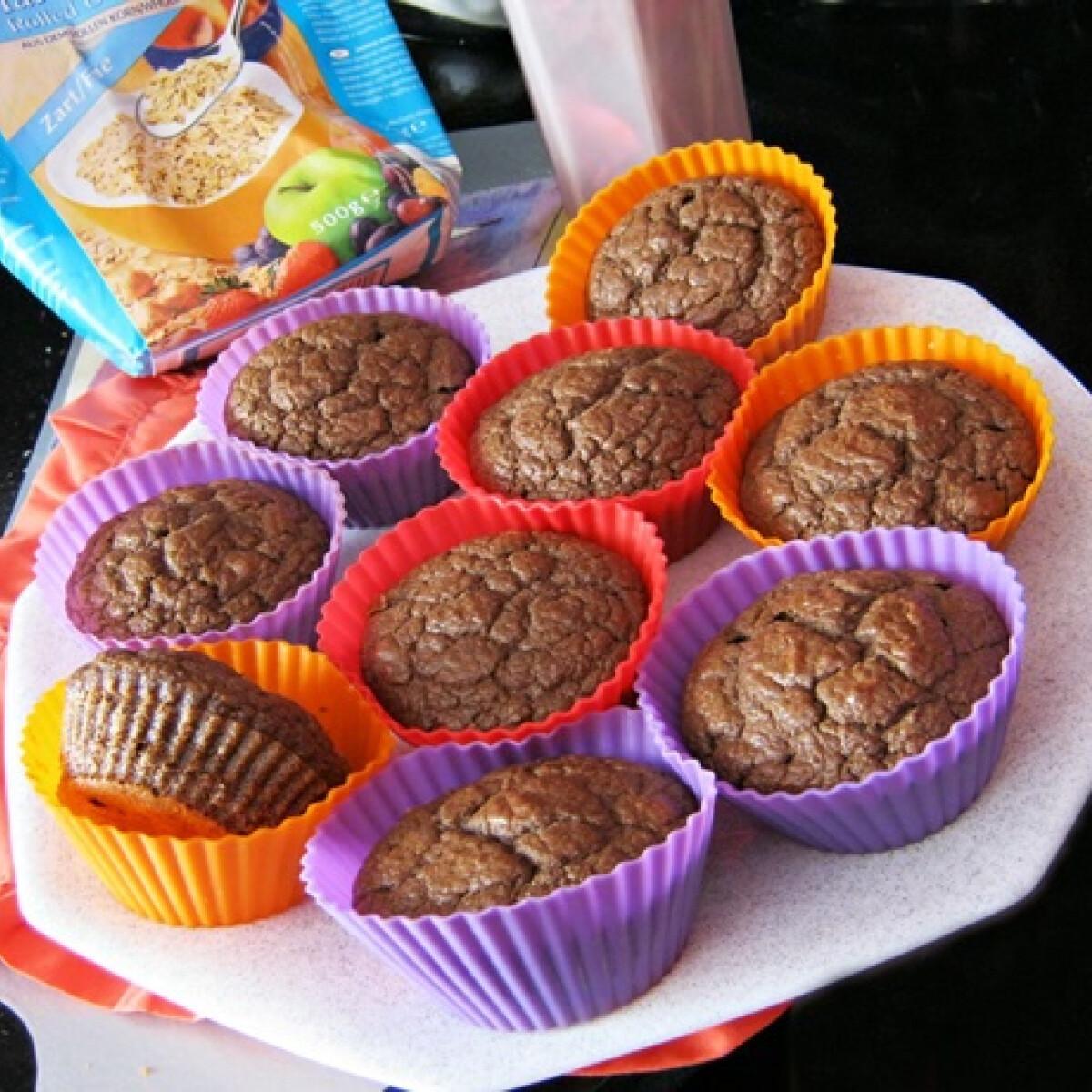 Zabpehelylisztes fogyókúrás muffin