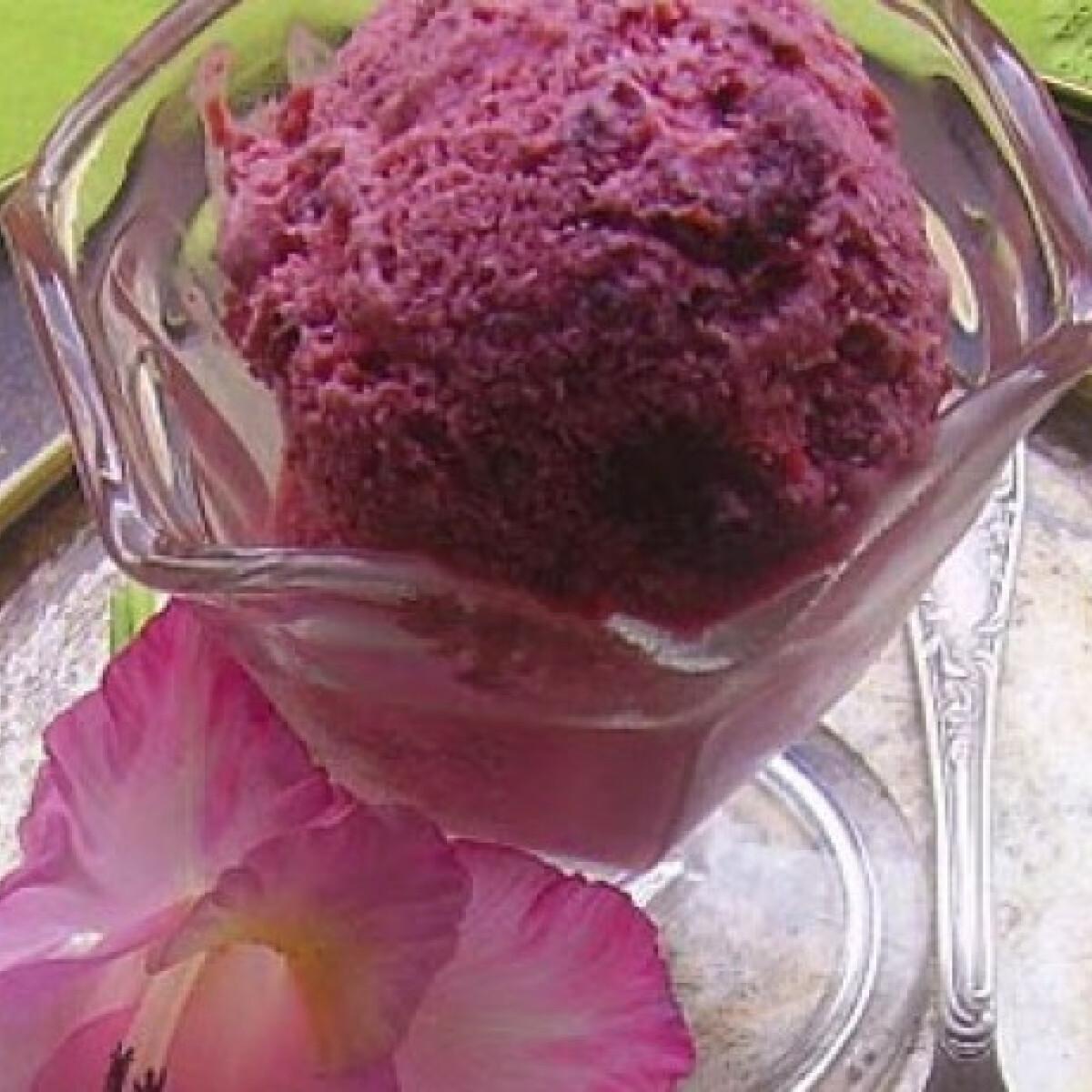 Joghurtos meggyfagylalt