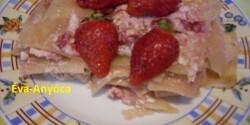 Epres lasagne 3. - túrókrémes